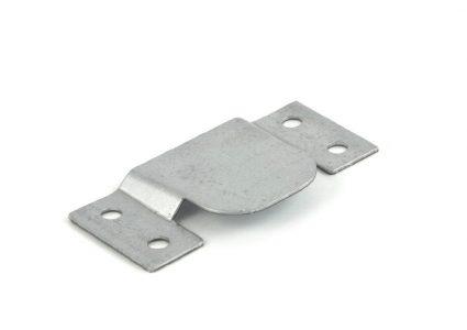 Galvanised upholstery junction plate