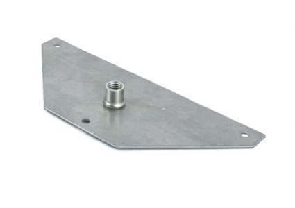 Corner leg M-10 fastening