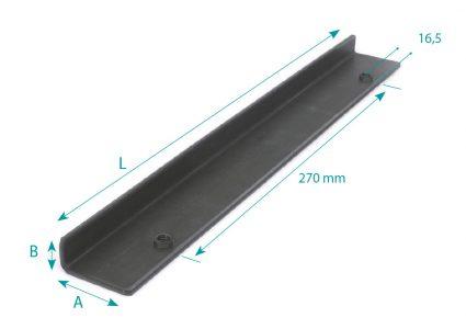 Standard bracket for hinge (Symmetrical)