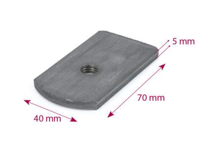Mattress base plate 70×40 M-10